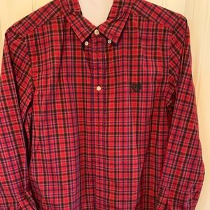 Chaps red button down